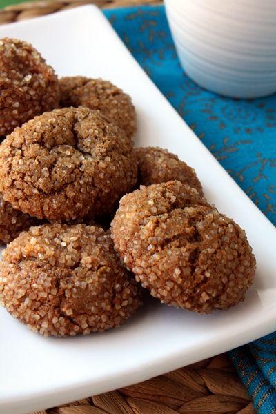 Triple Ginger Cookies {2013 Cookie Swap}