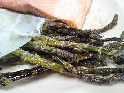 roasted asparagus with balsamic and parmigiano reggiano cheese - Napa ...
