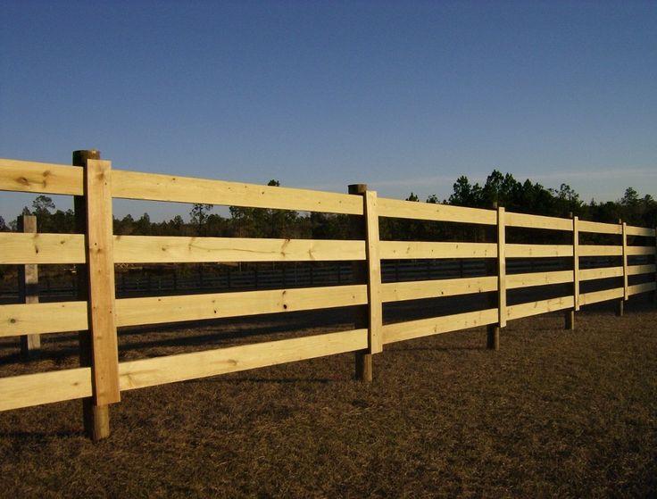 Wood Horse Fence Materials Horse Barn Fence Idea 39 S