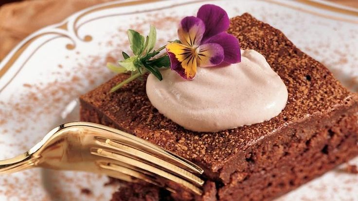 yourself to velvety chocolate mousse baked into rich, chewy brownies ...