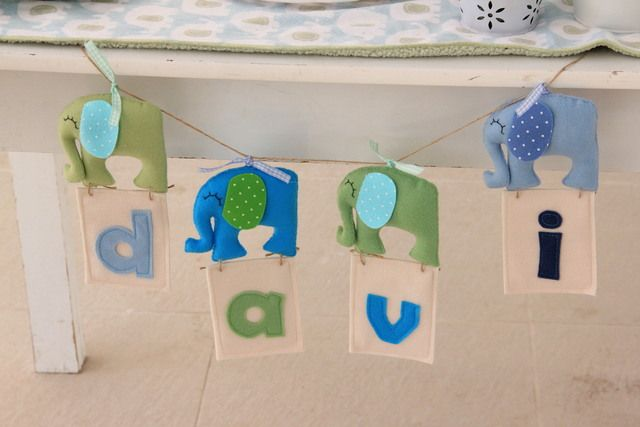 banner at a blue and green baby shower babyshower bluegreenbanner