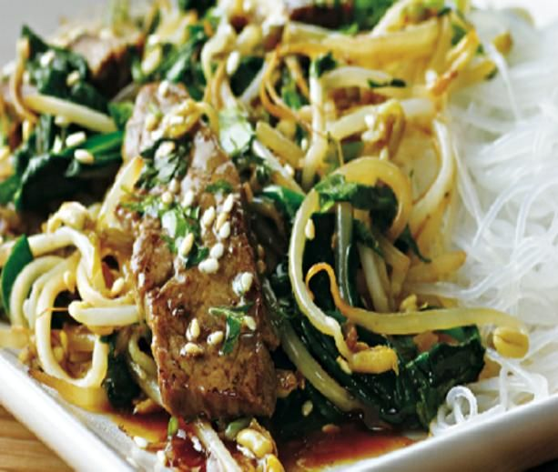 Korean Beef Stir-Fry | Healthy recipes to try | Pinterest