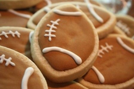 Football Tailgate Party Cookie