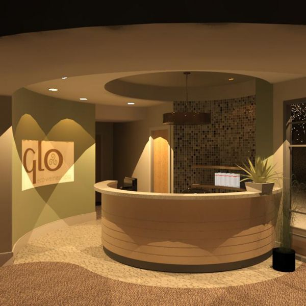 spa lobby the spine group remodel pinterest