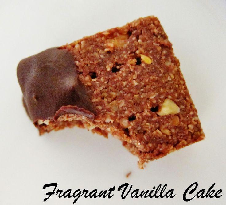 Raw Pecan Mocha Shortbread from Fragrant Vanilla Cake