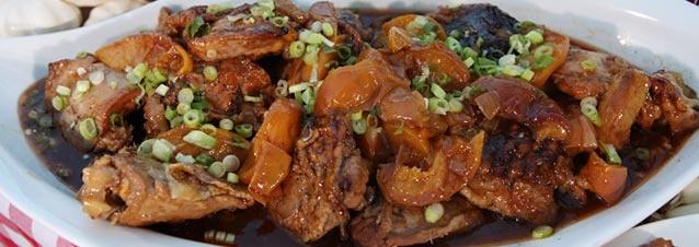 Whiskey-Peach BBQ Chicken | Recipes | Pinterest