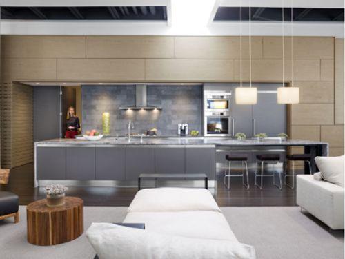 urban loft Kitchen design | Home Design | Pinterest