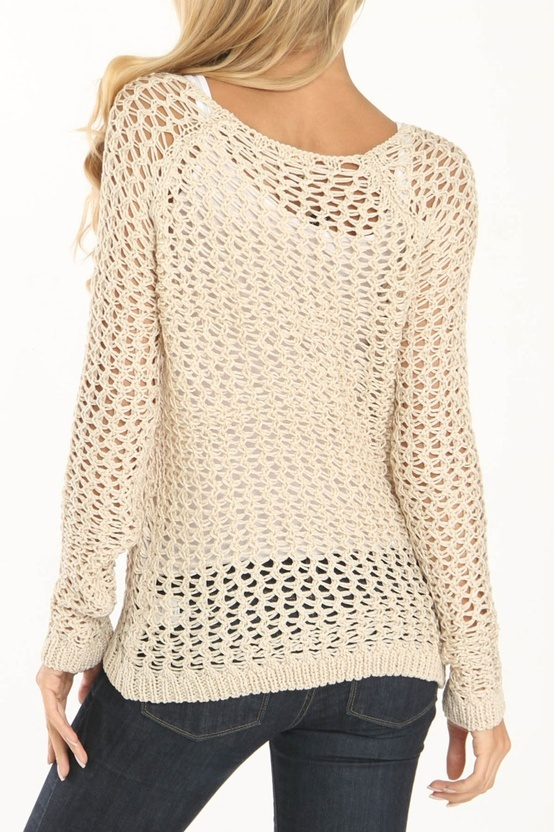 Crocheting A Sweater : Crocheted sweater Knitting crochet & sewing Pinterest