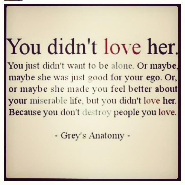 Love Quotes From Greys Anatomy. QuotesGram