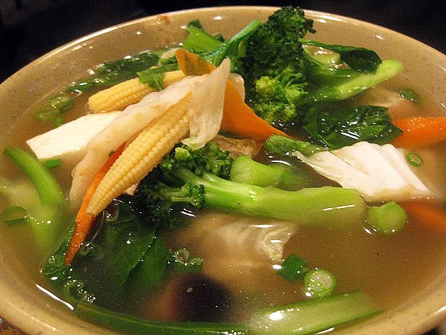 Korean Tofu and Vegetable Soup | The art of cooking | Pinterest
