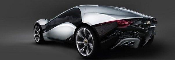 Alfa Romeo Coupé Pandion by Bertone - 2010 .. sera présenté au salon de Genève