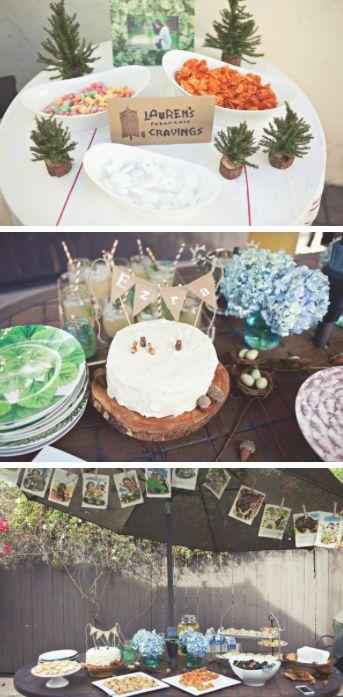 woodland themed baby shower bundle of joy pinterest
