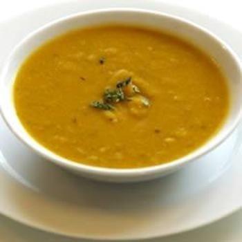 Delicata Creamy Squash Soup food-and-drink