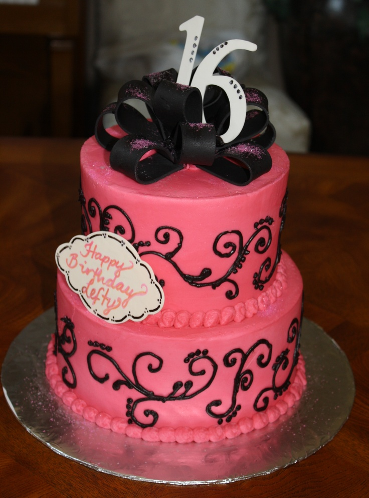 16th birthday cakes for girls