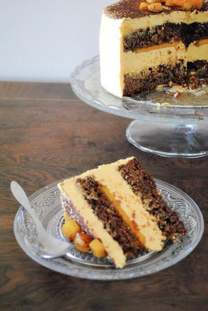 Layer Cake de Chocolate y Mango | Chocolate & Mango Layer Cake | Sucre