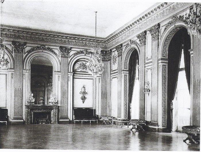 640 Fifth Ave. | The ballroom of the Vanderbilt mansion during Grace Wilson [Mrs. Cornelius III] Vanderbilt's occupancy.