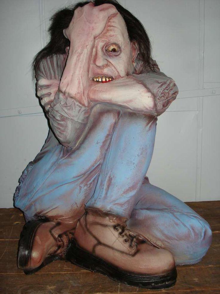 Pin by Katie Blaisdell on Halloween Asylum  Pinterest ~ 074650_Halloween Asylum Door Prop