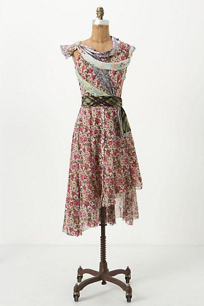 crazy quilt dress
