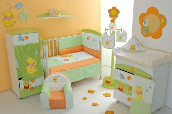 Pin by cheryl van eck on baby 39 s room pinterest - Cute winnie the pooh baby furniture collection ...