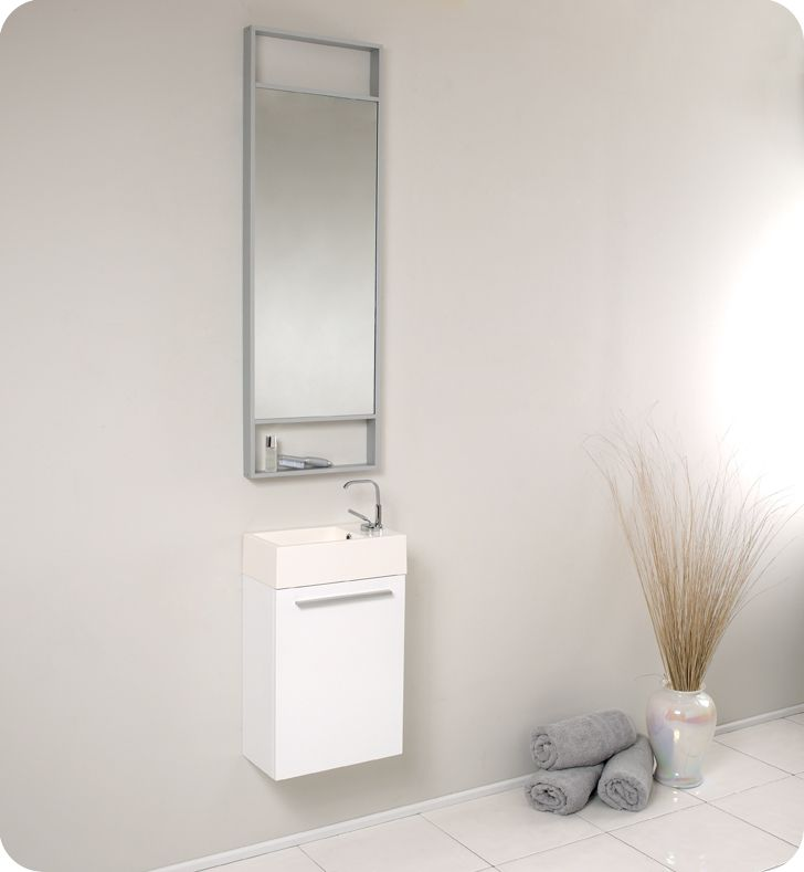 Elegant  Door 36cm Wide By 120cm Tall Mirror Bathroom Wall Cabinet Narrow Style