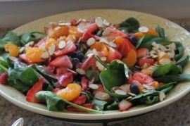 Summer Salad with Grilled Chicken, Bacon & Chipotle Lime Vinaigrette