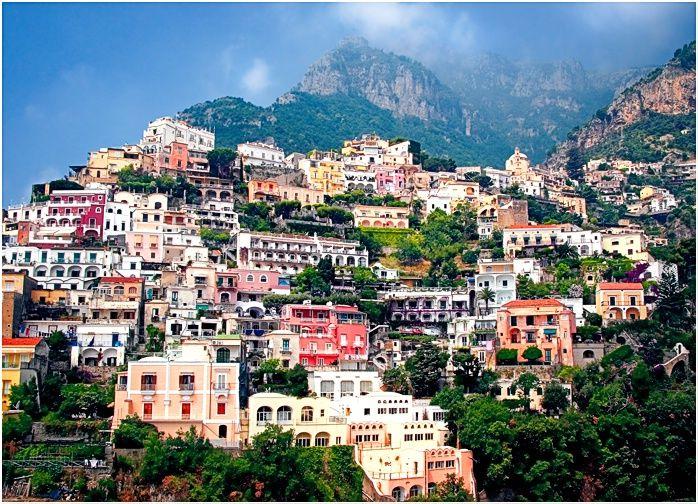 Positano Salerno Italy Travel Destinations Pinterest