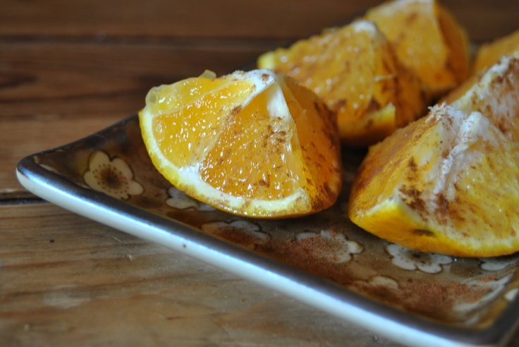 Moroccan dessert: oranges with cinnamon | ~ From the Orange Tree ...