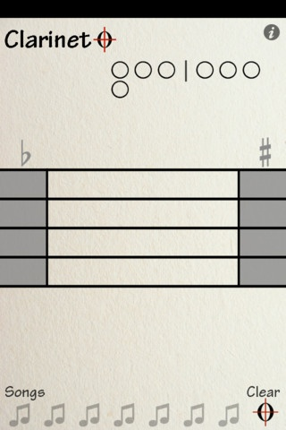 Clarinet 0 99 an interactive fingering chart for b flat clarinet