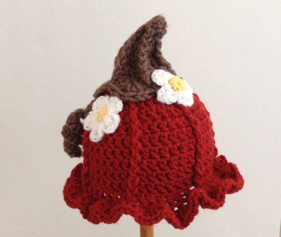 Crochet Halloween Baby Hat Pattern : Crochet Pumpkin Hat Baby Halloween