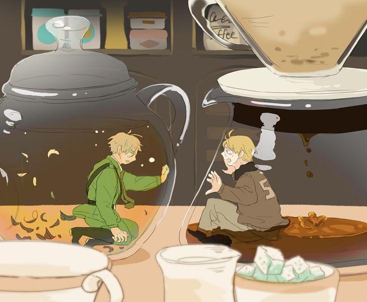 [Fanfic] [APH] The Worst Coffee Ever 6657575005242b3ce3498d701e0e3c79