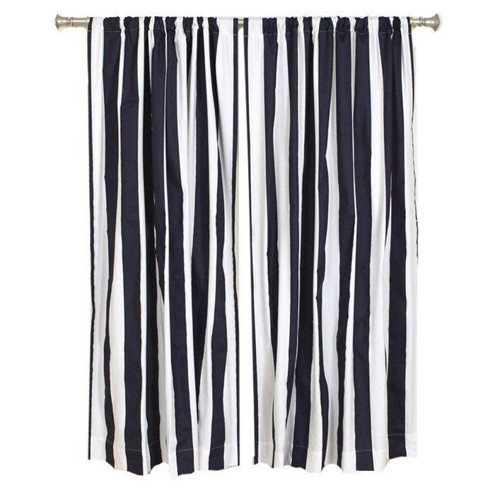 Striped Nautical Curtains Stripes Pinterest