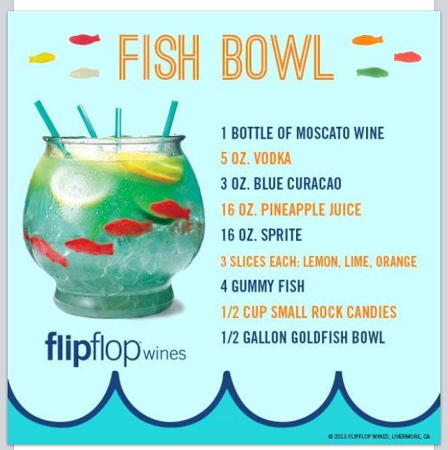 Fish bowl drinks pinterest for Does swedish fish have gelatin