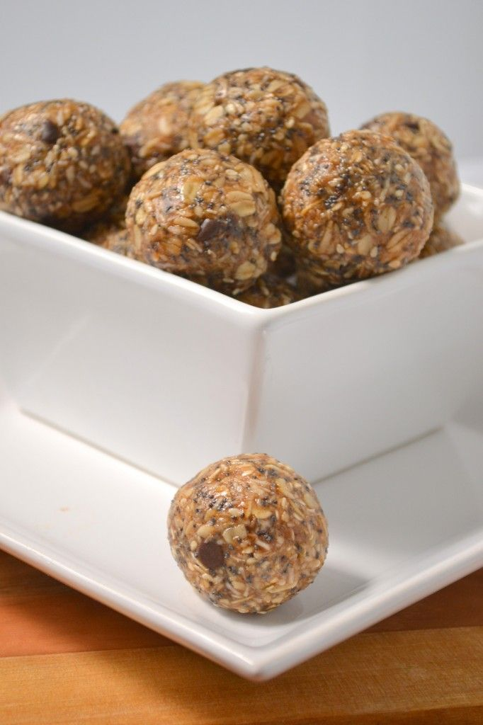 Energy balls.  These are delicious!