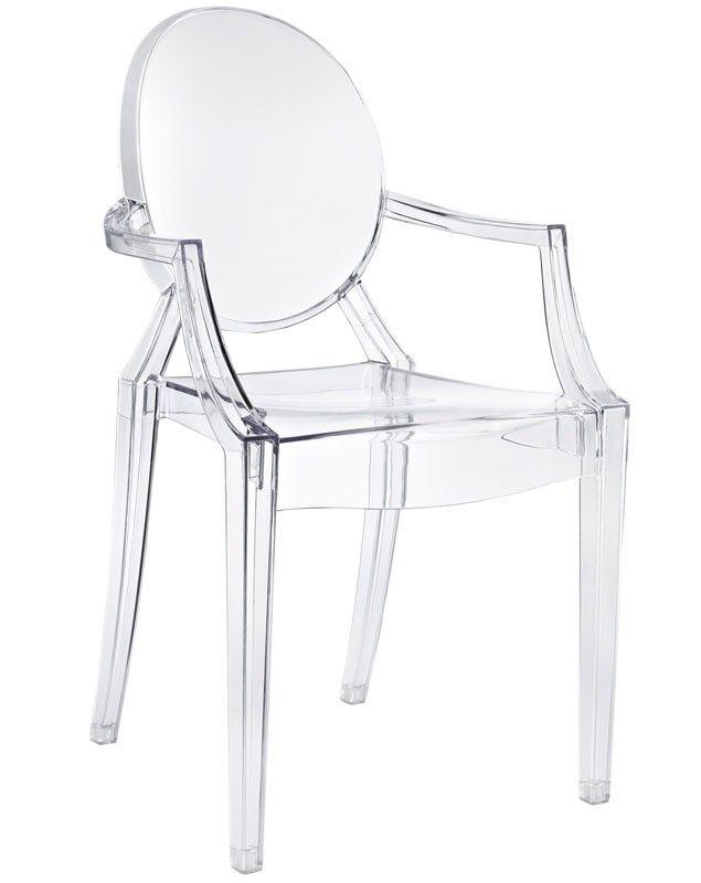 Magnolia Side Chair CLEAR ACRYLIC, Apt2B  Small apartment ideas  Pi ...