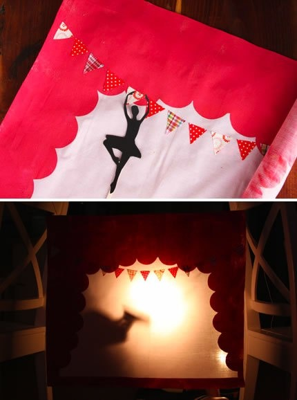 DIY Shadow Puppet Theater