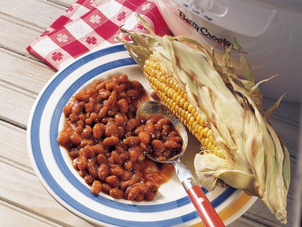 Slow Cooker Baked Beans...Don't heat up the whole house for baked ...