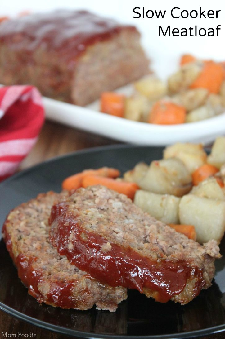 Slow Cooker Meatloaf Recipe with Potatoes and Carrots | Recipe