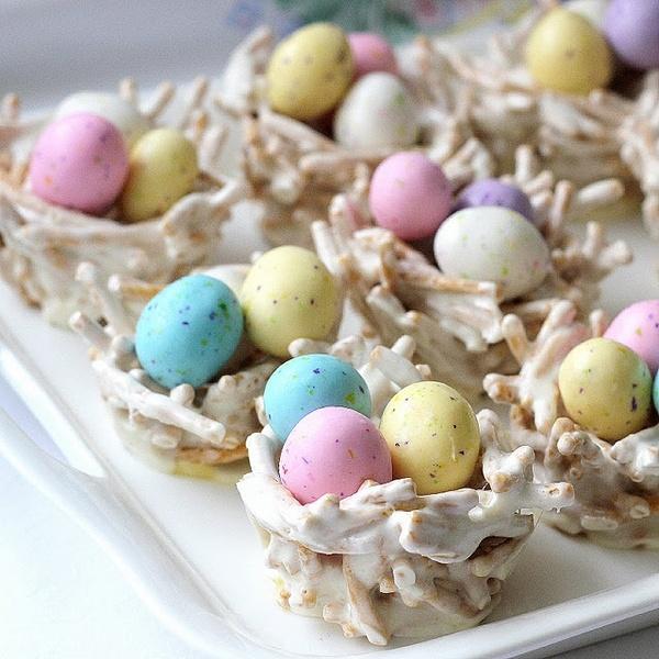Easter Egg Nests | Hot | Pinterest