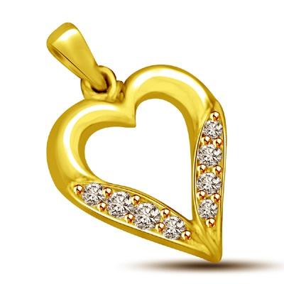 valentine diamond pendants