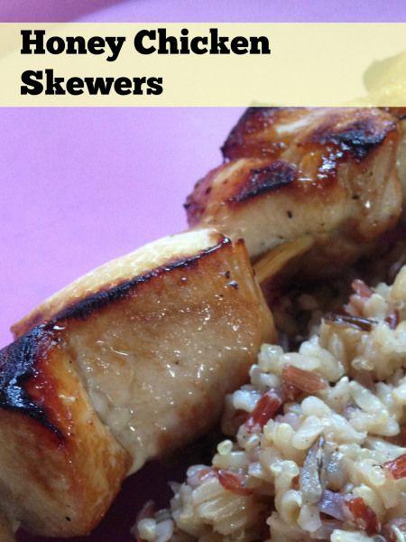 skewers skewers of sage chicken with sweet italian sausage moist honey ...