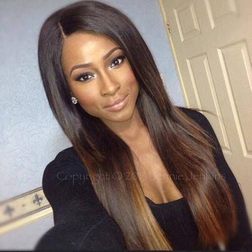 Virgin remy sew in weave hair extensions natural straight brazilian - Pin By Mounirath Odjo On Hair Style Coiffure Cheveux