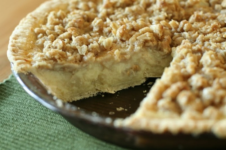 Sour Cream Apple Pie | Pies | Pinterest