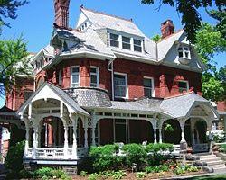 Historic Old West End, Toledo, Ohio.