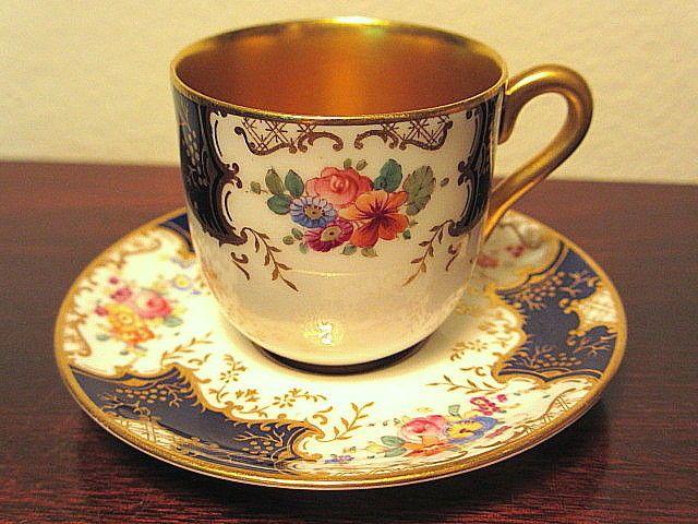 Antique or vintage demitasse cups
