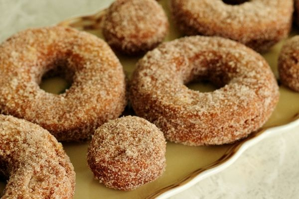 Apple Cider Doughnuts Makes about a dozen (From Glazed, Filled ...