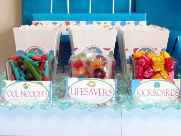 pool party favors | Kids - Cupcakes & Birthday Party Ideas ...