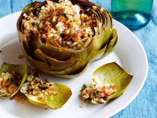 Italian-Style Stuffed Artichokes recipe - Prevention Magazine - Yahoo ...