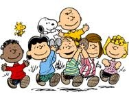 the Peanuts gang....started out as a cartoon newspaper strip in 1950 and in the 70's they were on t.v. as specials.  Love , love , love Peanuts!!!  Thanks Charles M. Schulz for these adorable friends!