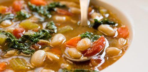 tuscan bean soup | Foodie | Pinterest