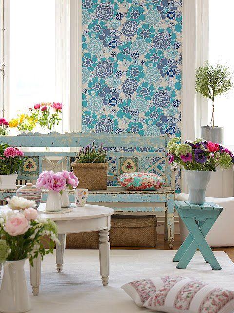 Tendência para a primavera na decoração